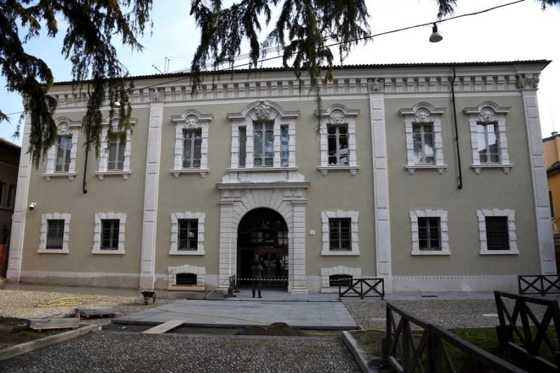 Pinacoteca Tosio Martinengo, veduta esterna, Brescia Foto Christian Penocchio