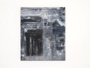 Lapo Simeoni, #Atlantide belonging to another existence, 2018 olio e stampa su tavola, 30x25 cm