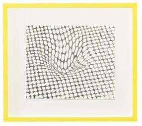 Barbara De Ponti, Novum Locus Amoenus 2 from the series Time Code, 2017, graphite on paper, cm 40x45 © Barbara De Ponti Courtesy Viasaterna, Milano