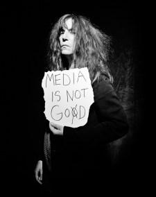 MATTIA ZOPPELLARO, Patti Smith, New York 2010, 70x100cm, Ed. of 5 2ap, 2016. Courtesy Traffic Gallery