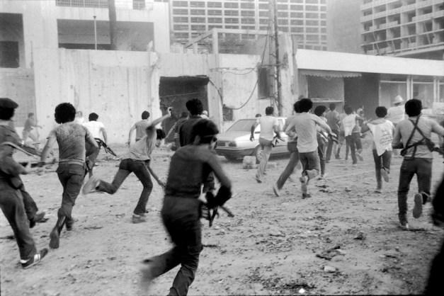 Beirut 1982 (c) Chris Steele-Perkins/Magnum Photos/Contrasto