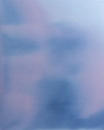 Ettore Pinneli, Zoom in_2 colorful dilatation 2018 olio su tela, mensola in legno 30x24cm