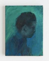 Luca De Angelis, Felicia, 2016, olio su lino, 24x18 cm