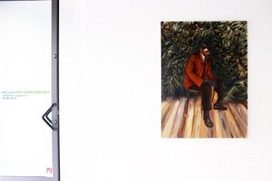 Down Deep. Immagini del profondo nella pittura contemporanea, veduta della mostra (Luca De Angelis), Villa Contemporanea, Monza