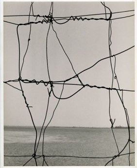 Paolo Monti, Le astrazioni involontarie, c.a. 1950 stampa ai sali d'argento su carta 37,2 x 29,3 cm