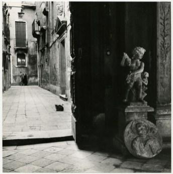 Paolo Monti, Venezia, 1950 ca. stampa ai sali d'argento 24 x 23,5 cm