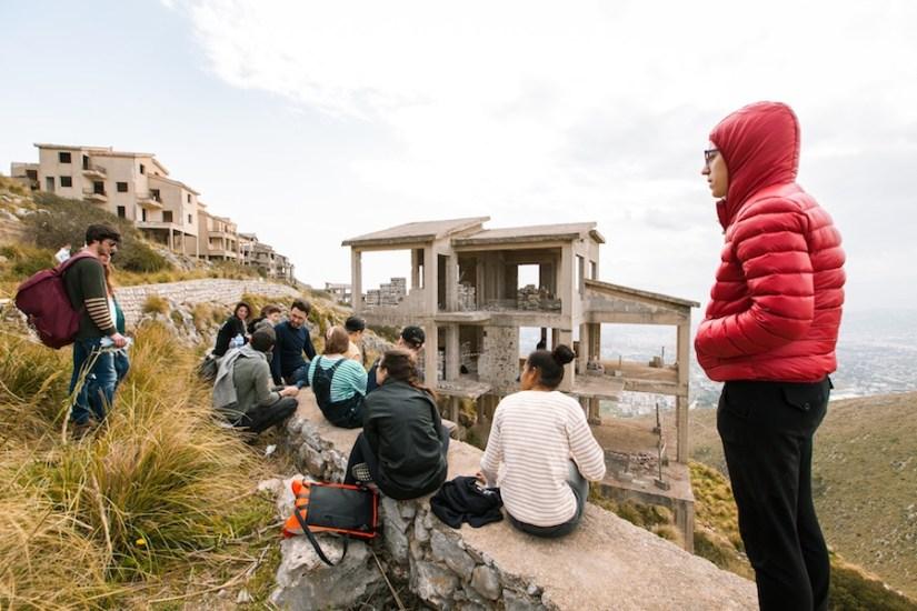 """Rotor, Da quassù è tutta un'altra cosa, 2018, video, project """"City on Stage"""", Pizzo Sella Photo: Simone Sapienza Photo Courtesy: Manifesta 12 Palermo and the artist"""