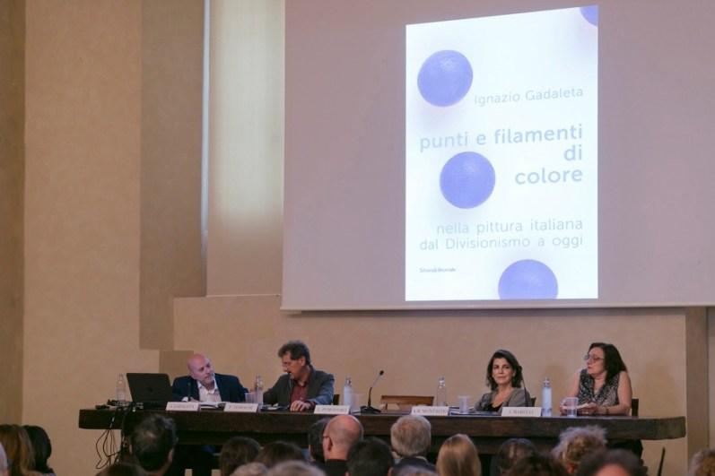 Ignazio Gadaleta, Punti e filamenti di colore nella pittura italiana dal Divisionismo a oggi, presentazione del volume, 31 maggio 2018, Pinacoteca di Brera, Milano