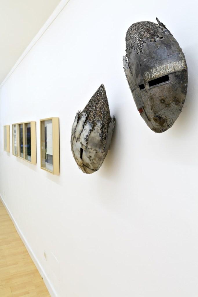 Andrea Cereda, Alessandro Costanzo. La sostanza del ricordo, veduta della mostra, Bonio Arte, Reggio Emilia. Foto: Fabio Fantini