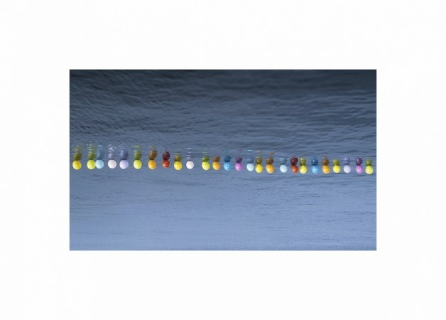 Hale Tenger, Balloons on the Sea, 2011, photographic print on Fuji Professional paper, 83 x 115 cm. Edition of six, plus artist's proof Courtesy Rizzuto Gallery, Palermo