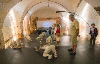 Fragile, veduta della mostra, Monastero Domenicano, Ptuj