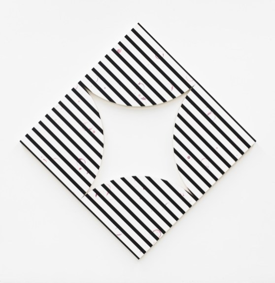 Claudia Comte, Quarter circle painting stripes, 2018, Artisti per Frescobaldi 2018