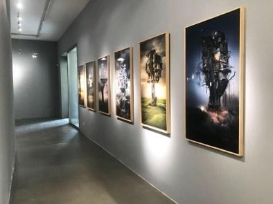 Barbara Nati. Countless tomorrows, veduta della mostra, Andrea Ingenito Contemporary Art, Milano