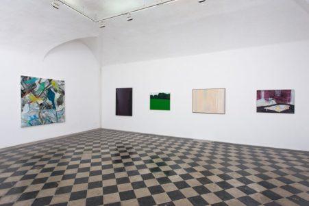 Reazione a catena. Differenti vie della pittura #1, veduta della mostra, 1/9unosunove arte contemporanea Foto Giorgio Benni