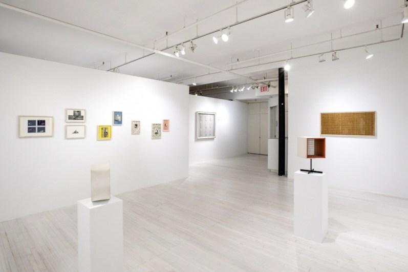 Gianfranco Chiavacci. Works: 1957-2005, veduta della mostra, Sous Les Etoiles Gallery, New York