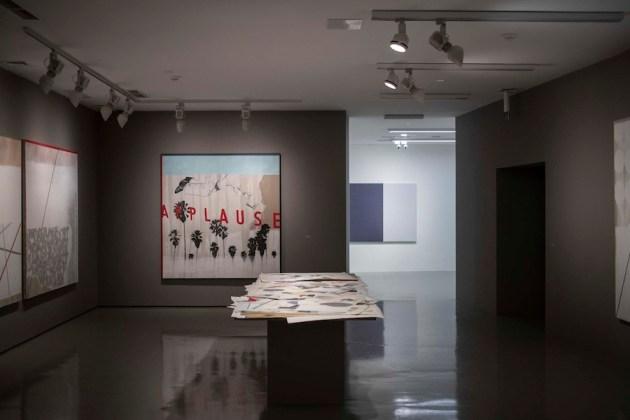 Ex Post, Galleria Civica di Trento, veduta dell'allestimento (Luca Coser). Foto Mart, Jacopo Salvi