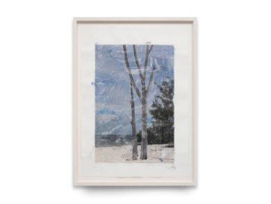 Marìa Magdalena Campos-Pons, CAPTIVA - ATARDECER , 2016, 117,5 x 86,5 cm, tecnica mista su carta Arches
