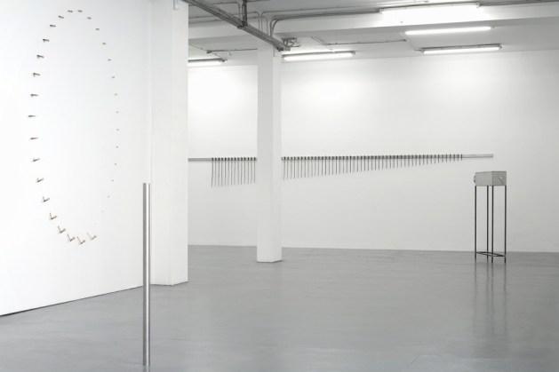 Jacopo Mazzonelli. Difference and repetition, veduta della mostra, Galleria Giovanni Bonelli, Milano Courtesy l'artista e Galleria Giovanni Bonelli