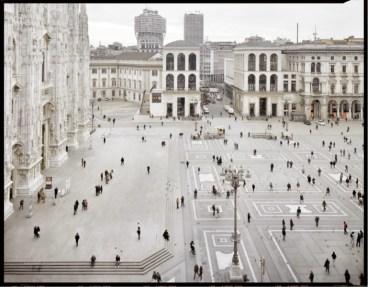 Vincenzo Castella, #05 Piazza del Duomo, 2013, C-Print,55x70 cm