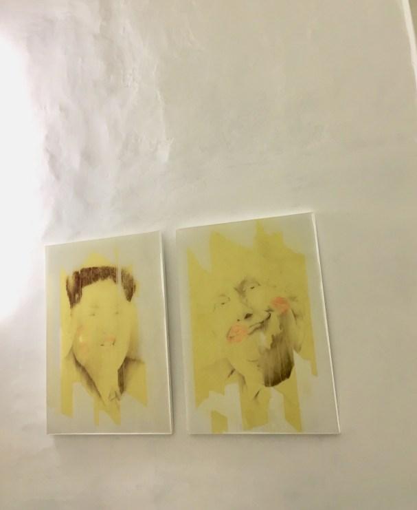 Veduta della mostra Fumatto. Re-Tape, Prisma Studio Genova. Foto: Viktorija Gedraityte