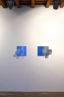 Jacques Toussaint. Nel segno della croce, veduta della mostra, Artesilva, Seregno Courtesy Artesilva, Seregno Foto Matteo Cirenei