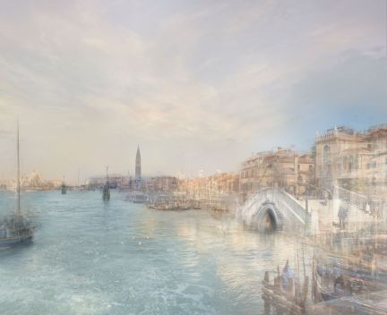 Hiroyuki Masuyama J.M.W. TURNER Looking along the Riva degli Schiavoni, from near the Rio dell'Arsenale, 1840 2010 Ed. 2/7 led lightbox 24,6 x 30,4 x 4 cm