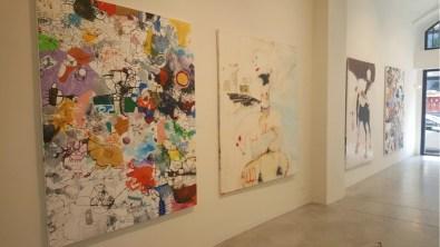 Kinki Texas   Francesco Tricarico, veduta della mostra, Fabbrica Eos, Milano