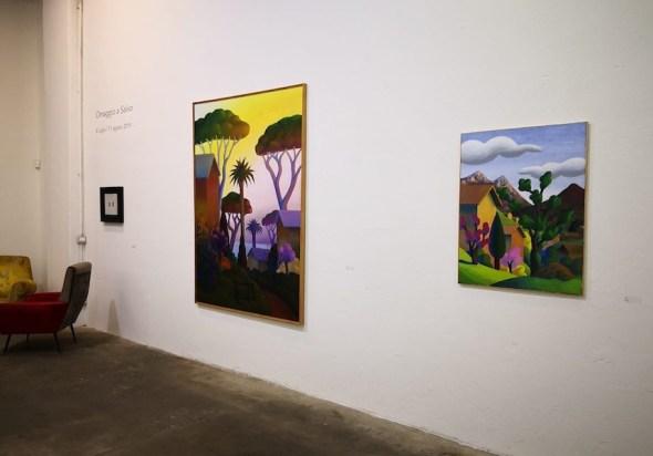 Omaggio a Salvo, veduta della mostra, Galleria Giovanni Bonelli, Pietrasanta (LU)