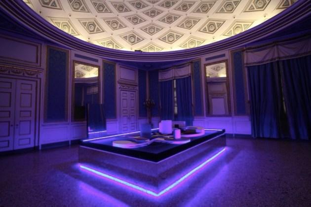 Nanda Vigo, Palazzo Reale, Milano, 2019, opera: Arch/arcology Photo Credit Marco Poma Courtesy Archivio Nanda Vigo