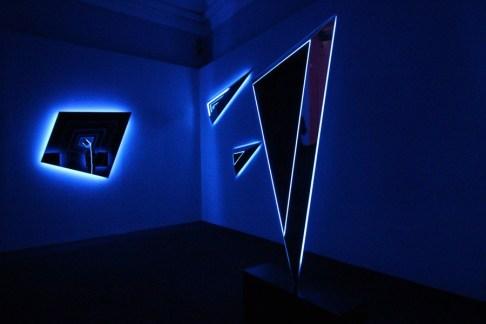 Nanda Vigo, Palazzo Reale, Milano, 2019, opere: Deep space Photo Credit Marco Poma Courtesy Archivio Nanda Vigo