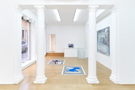 S/S/P, Roberto Alfano e Oliviero Fiorenzi, installation view, The Address, Brescia Courtesy The Address