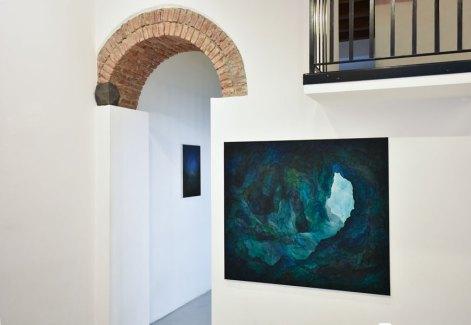 Thomas Scalco. Silēre, veduta della mostra, Villa Contemporanea, Monza Courtesy l'artista e Villa Contemporanea