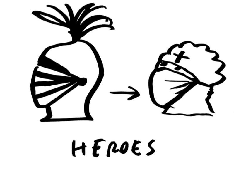 Dan Perjovschi, HEROES