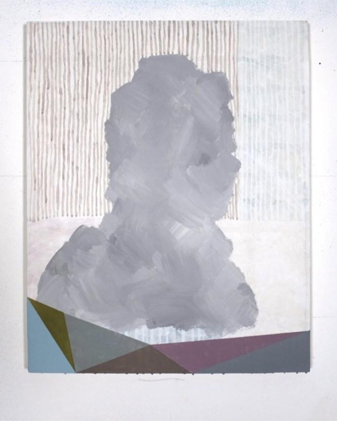 Luca Coser, Elegia, 2019, acrilico su tela, 50x40 cm