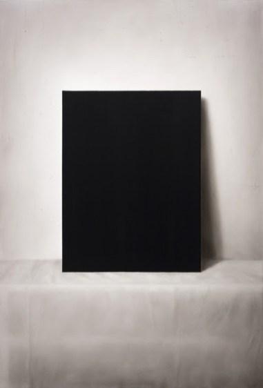Ettore Frani, Lo splendore del nero, 2020, cm 90x61, olio su tavola laccata - ph. Paola Feraiorni