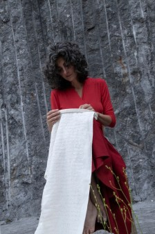 Ilaria Margutti, HÖ 'L FÌL DÈ UH (Sul filo di voce), Falía Artists In Residence 2020. Foto di Maura Vangelisti
