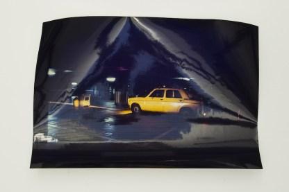 Gianni Melotti, Giallo, 31 dicembre 1979, stampa fotografica a colori, 24x30 cm, in totale 7 stampe fotografiche a colori esemplari unici, Archivio Gianni Melotti