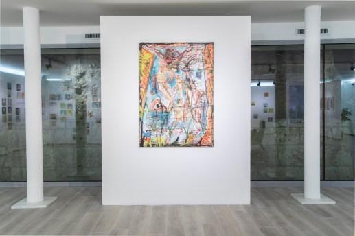 Francesco Lauretta. Ai nostri tempi, Installation view, TUBE Culture Hall, Milano
