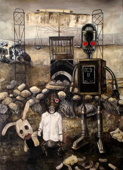 DESIDERIO, Bluesky, 70x50cm, 2010