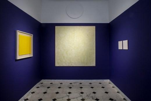 Tomas Rajlich e l'arte astratta in Italia, veduta dell'allestimento (Sala 8), Museo d'Arte Contemporanea di Villa Croce, Genova Foto Ilaria Caprifoglio