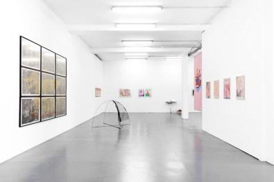 Lines of Passage, installation view, Galleria Giovanni Bonelli, Milano