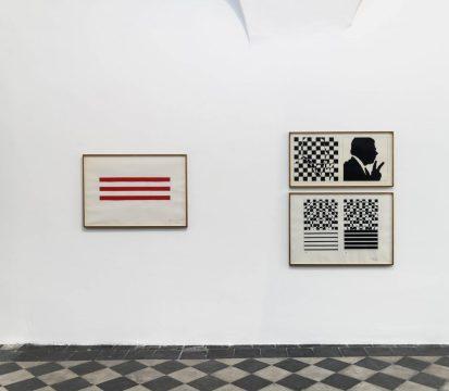 Sergio Lombardo. Dai Quadri ai Superquadri. 1961-1966, Installation view presso 1/9unosunove, Photo credit: Giorgio Benni, Courtesy 1/9unosunove