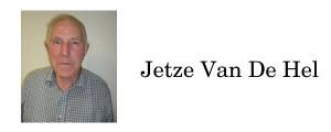 Jetze Van De Hel