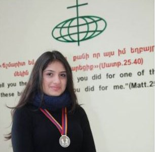 Siranush GHUKASYAN vice championne d'échecs
