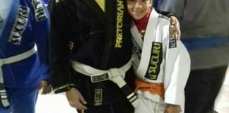 Carla no Jiu-jitsu