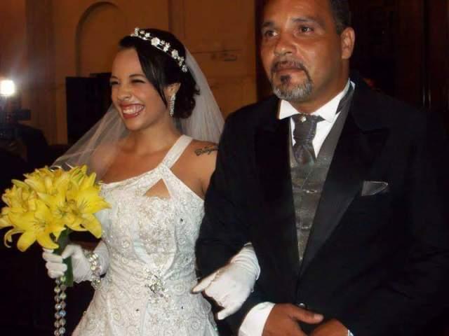 Gabriela e seu pai