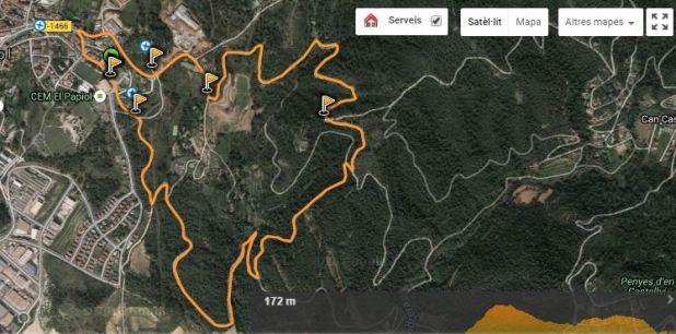 Cursa Popular Vila del Papiol cursa open i cadet
