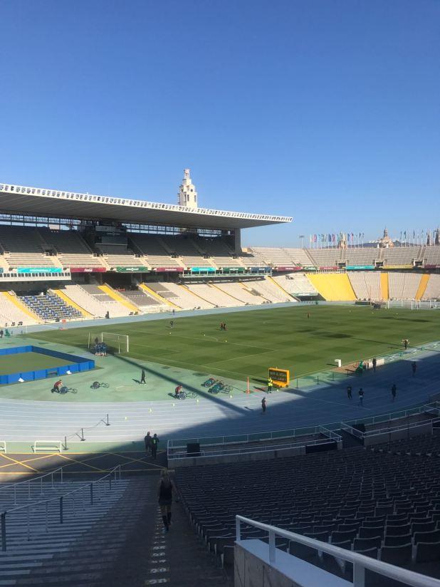Interior Estadi Olímpic