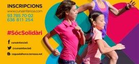 cartell cursa solidaria per a la infancia