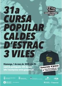 Cursa Popular Caldes d'Estrac 3 Viles 2020 @ Pavelló Municipal Caldes d'Estrac